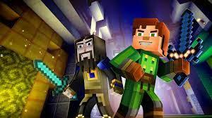 Minecraft, story mode, adventure pass ...