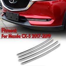 Fog Light Design 4pcs Set Abs Chrome Fog Light Cover Front Car Fog Light Lamp Cover Trim For Mazda Cx 5 Cx5 2017 2018