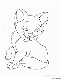 Kitty Cat Coloring Pages Cute Kitty Cat Coloring Pages Free
