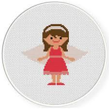 Angel Cross Stitch Patterns Stunning Cute Angel Cross Stitch Pattern Daily Cross Stitch