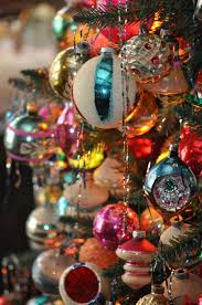 Vintage shiny bright ornaments Memories of Christmas Past  Shiny-Brite  Ornaments