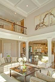 Column Molding Ideas Two Story Family Room With Coffered Ceiling Google Search Den
