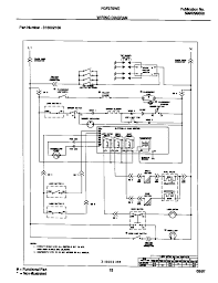 wiring diagram for frigidaire range the wiring diagram frigidaire fgf379wecf gas range timer stove clocks and appliance wiring diagram