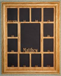 details about school years picture frame with name graduation collage k 12 and matte 11x14