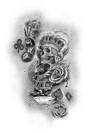 Pin by Felicia Chambers on sombreadas   Playing card tattoos, Card tattoo,  Boog tattoo