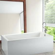54 x 30 bathtub small rectangle freestanding bathtub 54 x 30 bathtub wall surround lyons elite