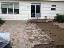 charming fabulous years paver patio installation how to install paver patio lovely of blog columbus ohio