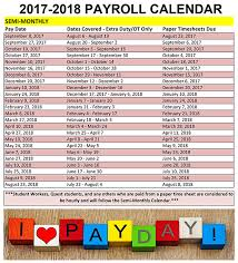 timesheet schedule semi monthly schedule graphic payroll red oak isd