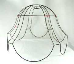 Lamp Shade Wire Frame Vintage Antique For Floor Lamp Very Huge
