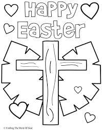 jesus easter coloring pages. Modren Easter Happy Easter 3 Coloring Page Inside Jesus Pages