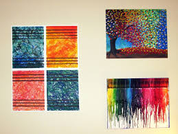 decoration, Graceful Wall Decor With Luring Painting Of Trees Also Unique  Draw In Various Kinds. decoration, Attractive Diy Modern Art ...