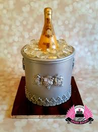 Cristal Champagne 21st Birthday Cake By Cakes Rock Cakesdecor
