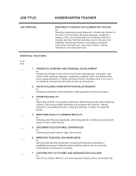 ... Unbelievable Design Kindergarten Teacher Resume 5 Kindergarten Teacher  Resume ...