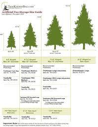 Size Guide Christmas Tree Storage Christmas Tree Storage