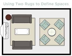 how to choose a rug in a large living room