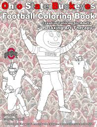 Small Picture Ohio State Buckeyes Football Coloring Book Silhouette Designs