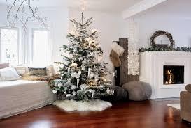 Wohnzimmer Zu Weihnachten Skandinavisch Weisser