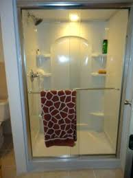 sterling accord shower ensemble curve in x 3 4 kit with surround installation en sterling accord shower surround w