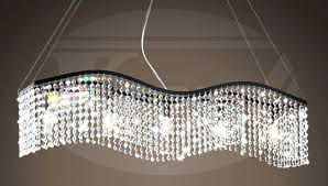 linear crystal chandelier ideas unusual linear crystal chandelier modern contemporary lamp strands from the modern contemporary