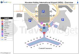 iah terminal a map  houston airport terminal a map (texas  usa)