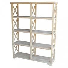 delightful international concepts hampton unfinished open bookcase sh 7247x unfinished bookshelves