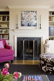 sunshine style fireplaces mantles dressed for spring