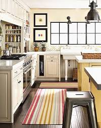 modern kitchen rugs. Blue And Yellow Kitchen Rugs Modern Striped Runner Cottage