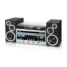 Innovative Technology Classic Retro Bluetooth Stereo System with CD Player, FM Radio, Aux- Home Systems | Bookshelf Stereos - Sears