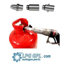 how to refill gas bottle