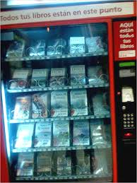 Vending Machine In Spanish Gorgeous A Brief History Of Book Vending Machines Pinterest Vending