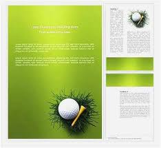 Free Golf Tournament Flyer Template Free Examples Free