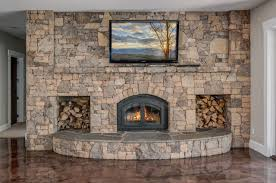 75 beautiful basement with a wood stove