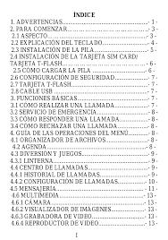 Verykool i126 Manual del usuario ...