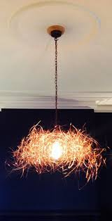 commission wire chandelier