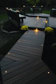 Light the night for you and your guests with TimberTech Decking and Lighting.  Th.