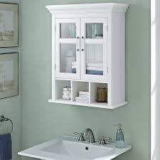 white bathroom wall cabinets. amazon.com: simpli home avington two door wall cabinet with cubbies, white: kitchen \u0026 dining white bathroom cabinets h