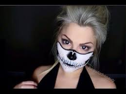 skeleton mask makeup tutorial costume ideas makeup skull makeup cool makeup