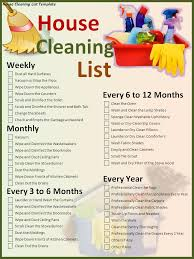 House Cleaning Checklist Making Time To Clean And Declutter