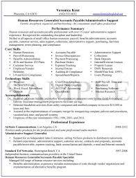 Human Resources Resume Sample ...