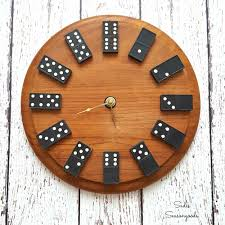 cool diy gifts to make for your boyfriend diy domino clock easy