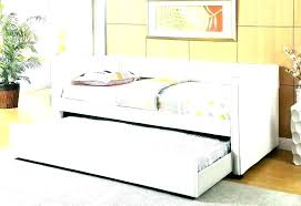 white wood daybed wooden daybed with pop up trundle