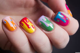 Nail design paint - how you can do it at home. Pictures designs ...