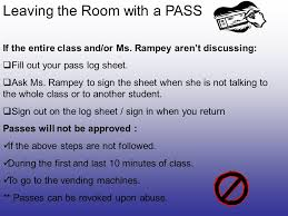 Classroom Procedures And Rules - Ppt Download
