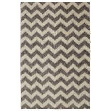 mohawk home stitched chevron gray 8 ft x 10 ft area rug
