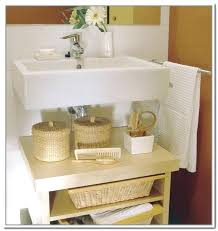 bathroom cabinet storage under sink pedestal organizer uk