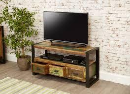 chic industrial furniture. Rustic Industrial TV Unit Chic Furniture .