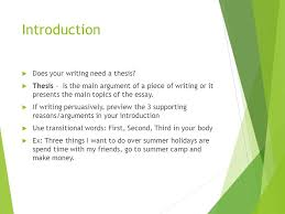essay writing a quick overview english language arts ppt  7 introduction