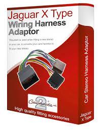 jaguar radio wiring harness jaguar image wiring jaguar x type cd radio stereo wiring harness adapter lead loom iso on jaguar radio wiring
