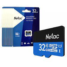 Thẻ Nhớ MicroSD Netac 32GB - Chính hãng