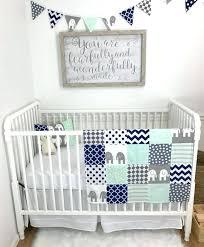 mint green crib sheet